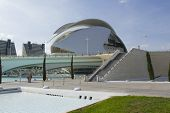 stock photo of calatrava  - Valencia Spain - JPG