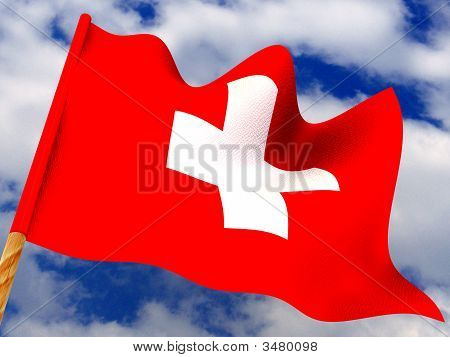 Flag. Switzerland