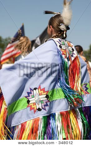 Native American Pow Wow Dancer