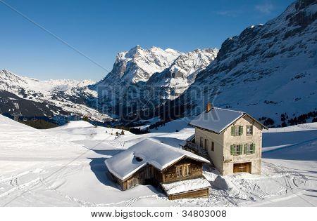 Kleine Scheidegg - Chalets