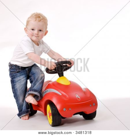 Me And My Red Car