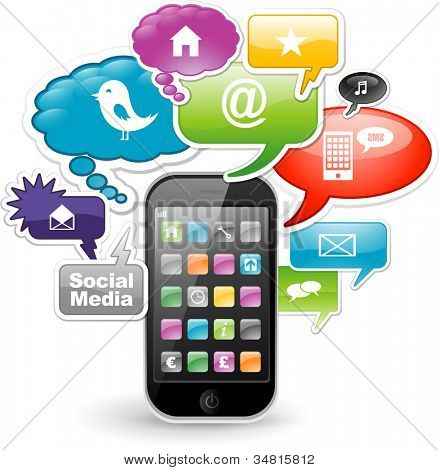 Smartphone application concept design