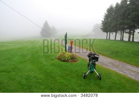 Foggy Morning Golf
