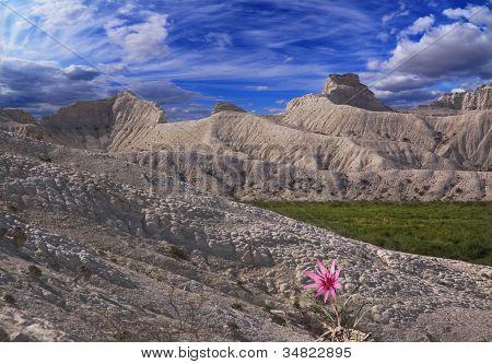 White Slopes Of The Mountains