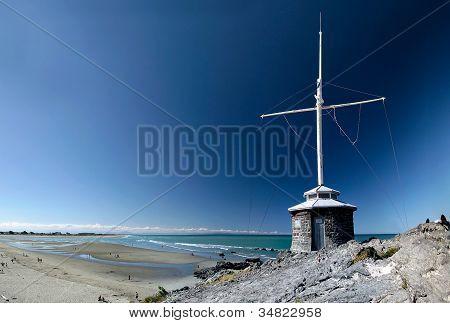 Sumner Beach Near Christchurch