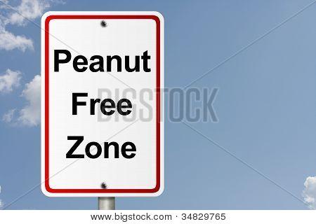 Peanut Free Zone