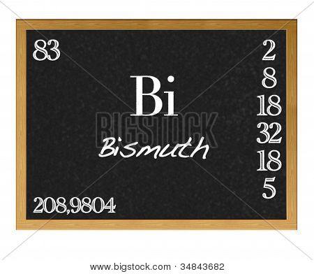 Bismuth.