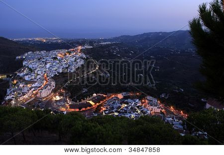 Frigiliana Evening, Andalucia