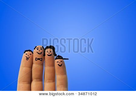 Finger's family