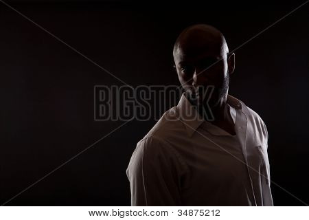 Fit African American Man