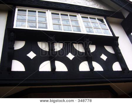 Tudor Style House Front