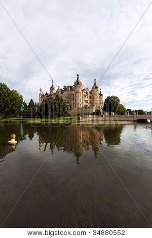 Schwerin Castle, seat of the Landtag of Mecklenburg-Vorpommern