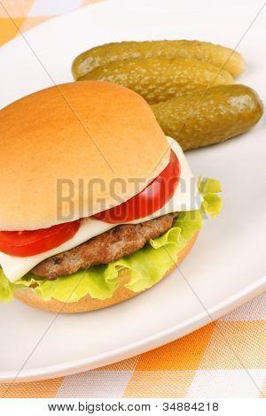 Mini Cheese Burger