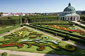 Chateau Garden In Kromeriz, Czech Republic