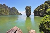stock photo of james bond island  - The magnificent island of James Bond - JPG