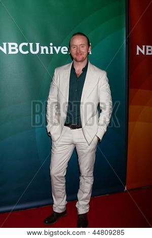 LOS ANGELES - APR 22:  Tony Curran at the NBCUniversal Summer Pres Day 2013 at the Huntington Langham Hotel on April 22, 2013 in Pasadena, CA