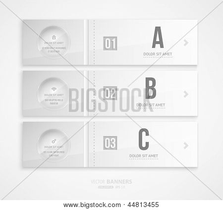Modern infographic template for business design. Can be used for infographic posters, banners, cards, paper designs, website layouts and web designs, diagrams and presentations. eps10 vector.