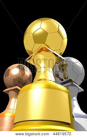 Photo of Three trophies (3D)