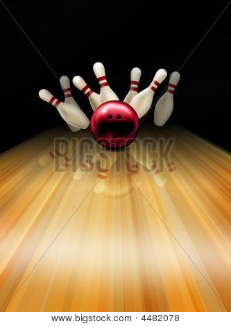 Bowling Lane Hit