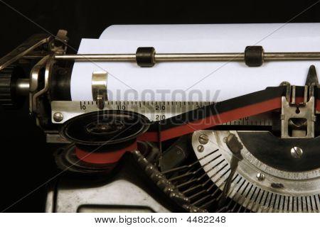 Schreibmaschine closeup
