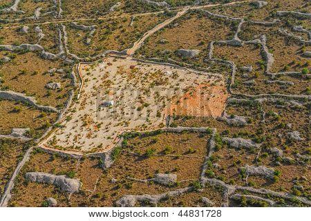 Dalmatia aerial