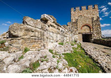Tzarevetz fortress, Veliko Tarnovo, Bulgaria