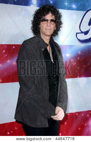 """LOS ANGELES - APR 24:  Howard Stern arrives at the """"America's Got Talent"""" Los Angeles Auditions at the Pantages Theater on April 24, 2013 in Los Angeles, CA"""