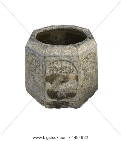 Ancient Stone Bucket