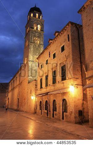 Old Town At Night, Dubrovnik, Croatia