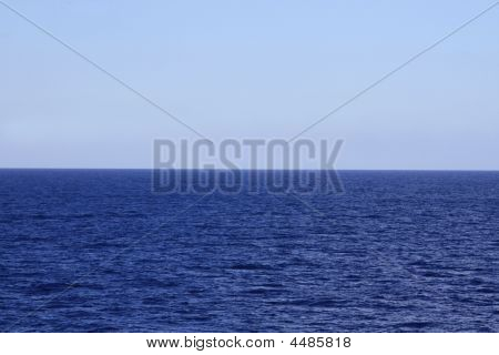 Blue Horizon Background