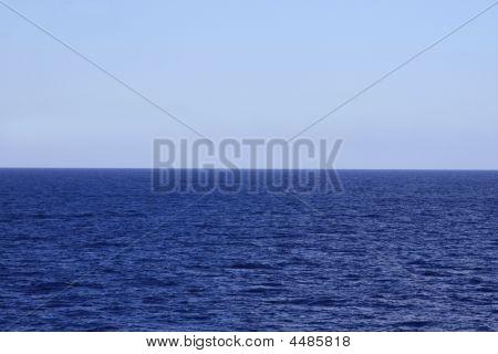 Blue Horizon Background