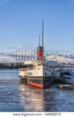 Loch Lomond Paddle Steamer