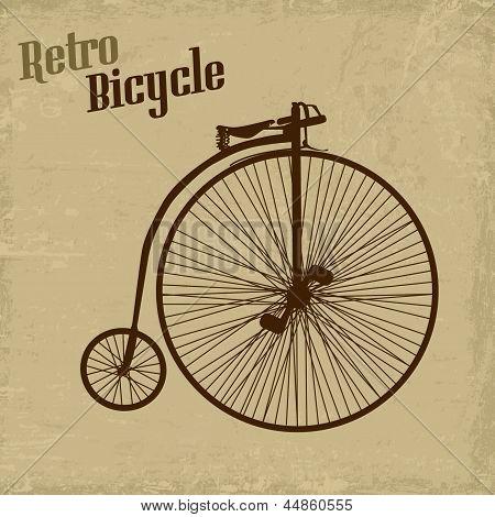 Poster Vintage de bicicleta