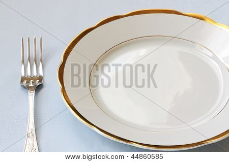Empty China Ware