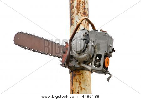 Chainsaw On A Pole