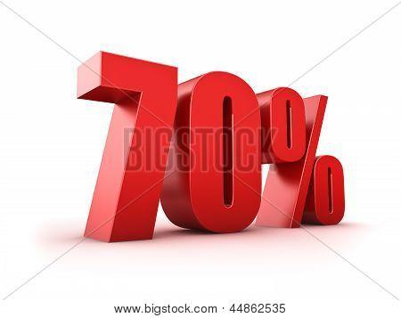 70 Por cento
