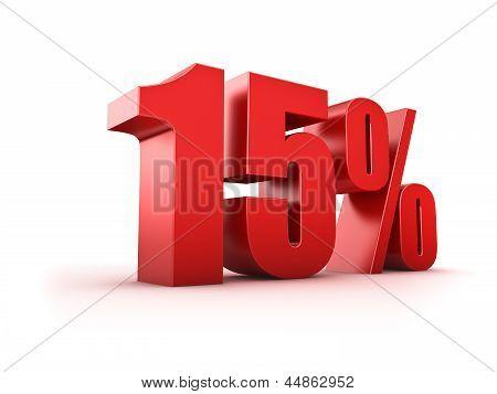 15 Por cento