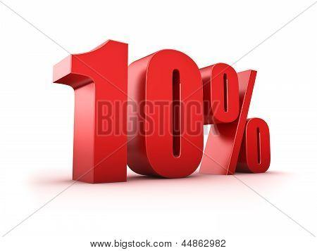 10 Por cento