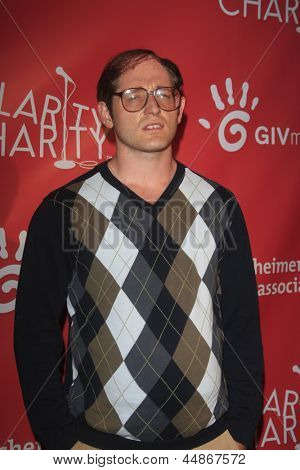 LOS ANGELES - APR 25:  Lucas Neff arrives at the Second Annual Hilarity For Charity benefiting The Alzheimer's Association  at the Avalon  on April 25, 2013 in Los Angeles, CA