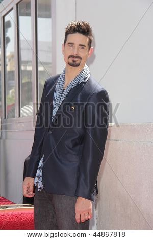 LOS ANGELES - APR 22:  Kevin Richardson at the ceremony for the