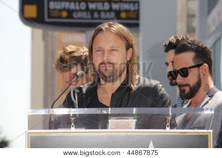LOS ANGELES - APR 22:  Max Martin at the ceremony for the