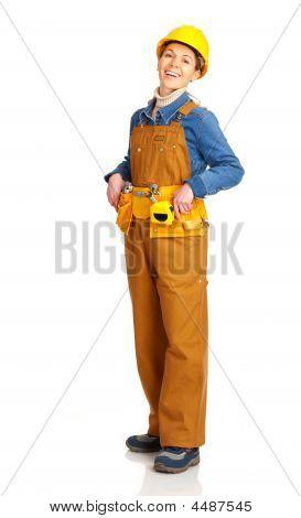 Generator Frau