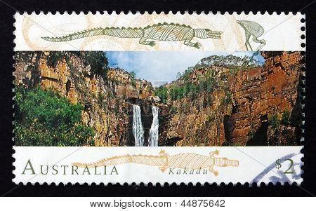 Postage Stamp Australia 1993 Kakadu National Park
