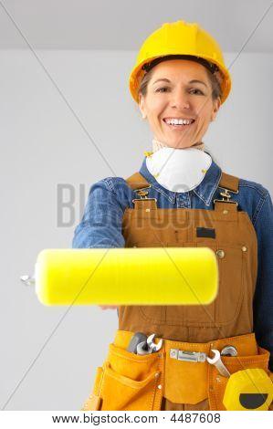 Builder Woman