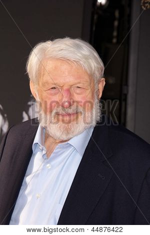 LOS ANGELES - APR 25:  Theodore Bikel arrives at the TCM Classic Film Festival Opening Night Red Carpet