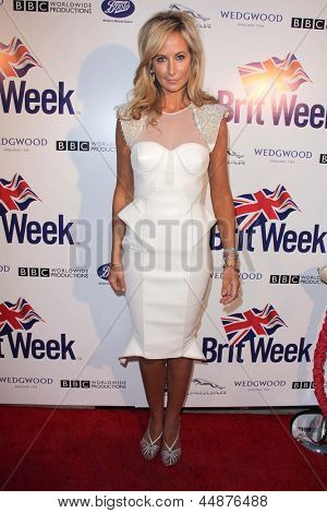 LOS ANGELES - APR 23:  Lady Victoria Hervey arrives at the 7th Annual BritWeek Festival