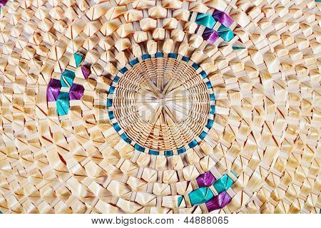 Fragment Of Vietnamese Style Conical Hat