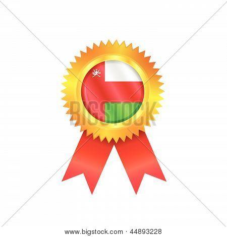 Oman Medal Flag
