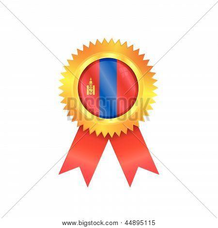 Mongolia Medal Flag