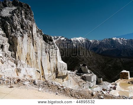 Marble Quarry - Mining, Italy